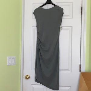 NWOT Top Shop sleeveless  dress size 4 green